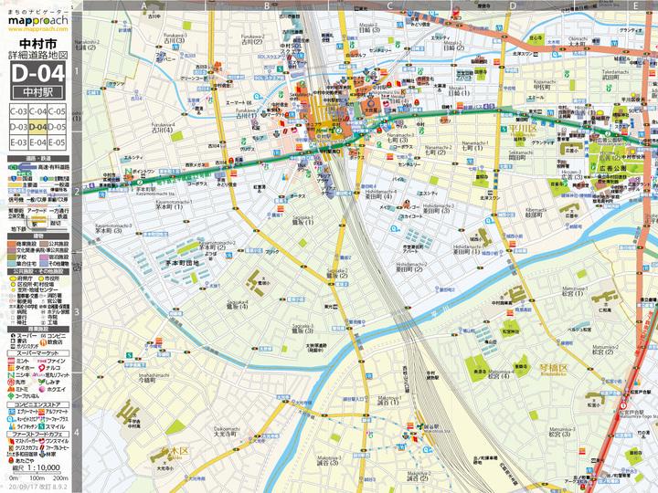 コンビニや路線バスのロゴまでデザイン。約30年経ってもまだまだ進化を続ける空想地図 | ギズモード・ジャパン